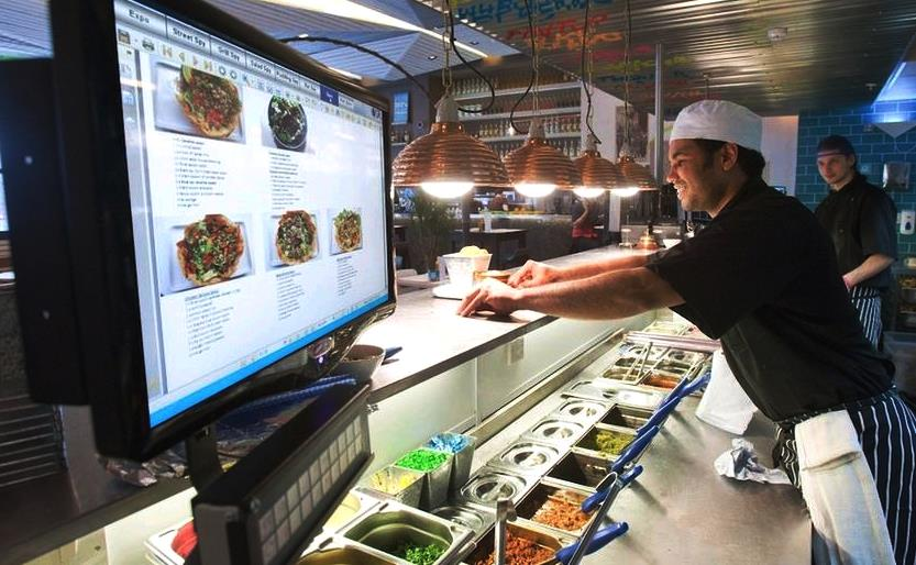 fast food automation system